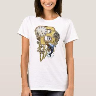 Steampunk Birthday letter B T-Shirt