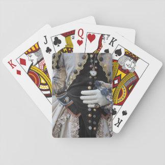 Steampunk bodice, Carnival, Venice Poker Deck