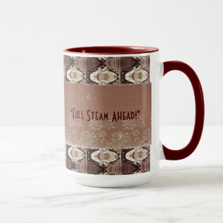 Steampunk Brass & Lace Photo Commemorative Mug