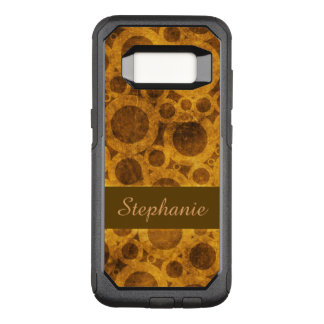 Steampunk Brown and Gold OtterBox Galaxy S8 Case