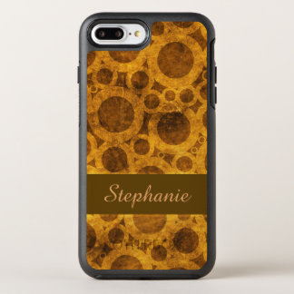 Steampunk Brown Gold OtterBox iPhone 8/7 Plus Case