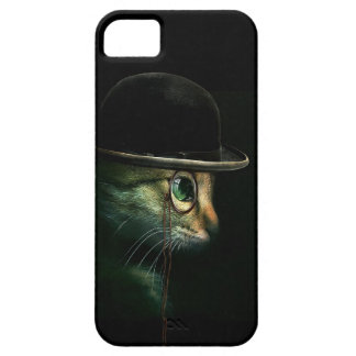 Steampunk Cat iPhone 5 Cases