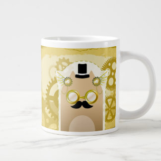 Steampunk Cat jumbo mug
