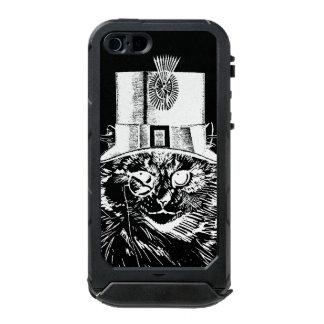 Steampunk Cat Kitty in a Top Hat Incipio ATLAS ID™ iPhone 5 Case