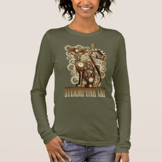 Steampunk Cat Long Sleeve T-Shirt