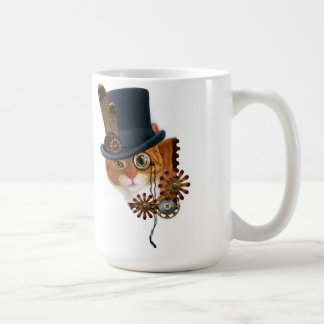 Steampunk Cat mag Coffee Mug