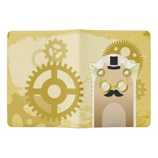 Steampunk+Cat Notebook