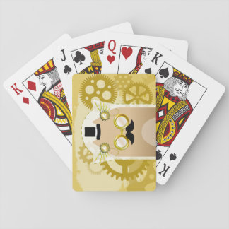 Steampunk Cat Playing Cards