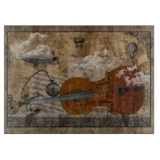 Steampunk Cello Boards