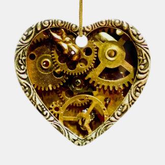 Steampunk Ceramic Ornament