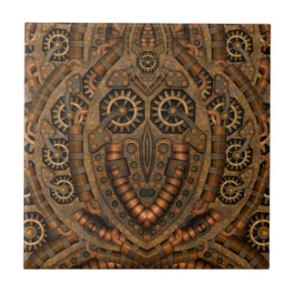 Steampunk  Ceramic Photo Tiles