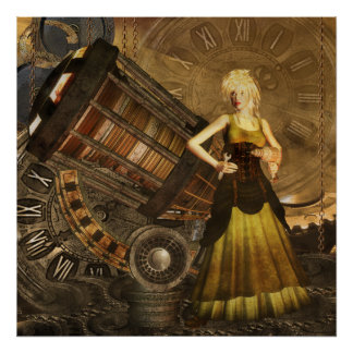 Steampunk - Ceris Telescopic Dreams Poster