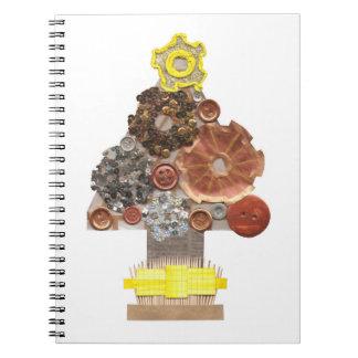 Steampunk Christmas Notebook