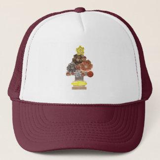 Steampunk Christmas Tree Baseball Cap