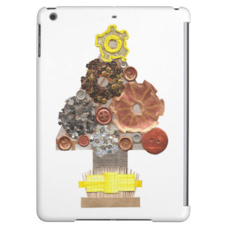 Steampunk Christmas Tree I-Pad Air Back iPad Air Cases