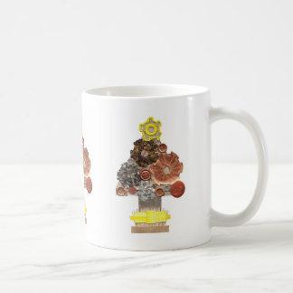 Steampunk Christmas Tree Mug