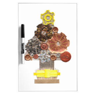 Steampunk Christmas Tree No Background Erase Board