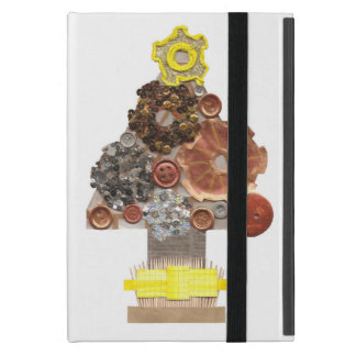 Steampunk Christmas Tree No Background Mini I-Pad iPad Mini Cover