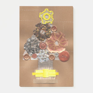 Steampunk Christmas Tree Post-It Notes