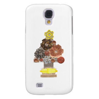 Steampunk Christmas Tree Samsung Galaxy S4 Case