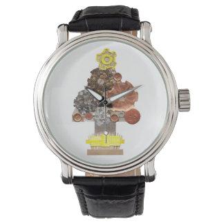 Steampunk Christmas Tree Watch