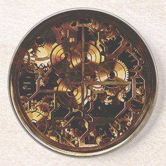 Steampunk Clock Gears Coaster