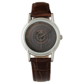 Steampunk Clock Time Metal Gears Watches