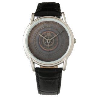 Steampunk Clock Time Metal Gears Wristwatch