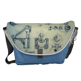 Steampunk : Clock-Work Commuter Bag