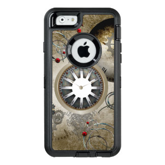 Steampunk, clocks and gears OtterBox iPhone 6/6s case