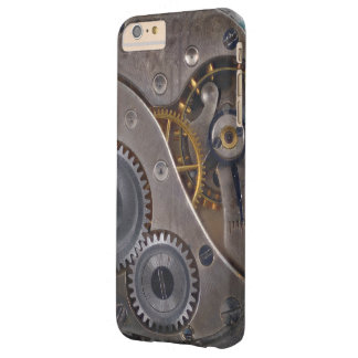 Steampunk Clockwork Rusty Gears Barely There iPhone 6 Plus Case