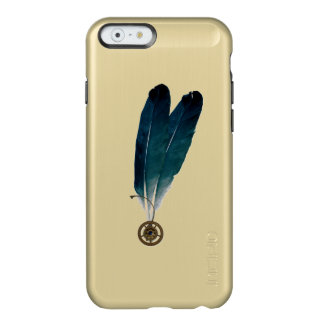 Steampunk Cogs and Feathers Incipio Feather® Shine iPhone 6 Case