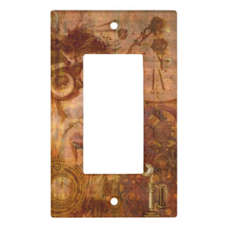 Steampunk Collage Light Switch Cover