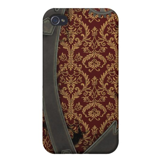 Steampunk Copper iPhone 4 Covers For iPhone 4