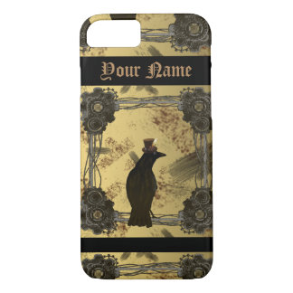 SteamPunk Crow Iphone Case