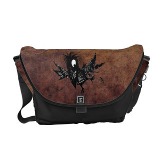 Steampunk Crow Messenger Bag