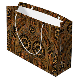 Steampunk Custom Vintage Kaleidoscope  Gift Bags