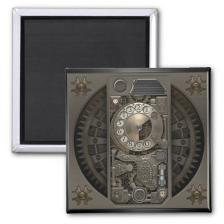 Steampunk Device - Rotary Dial Phone. Magnet