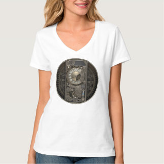 Steampunk Device - Rotary Dial Phone. T-Shirt
