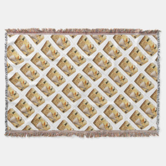 Steampunk Diary Throw Blanket