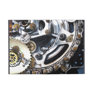 Steampunk Difference Engine collage ipad case