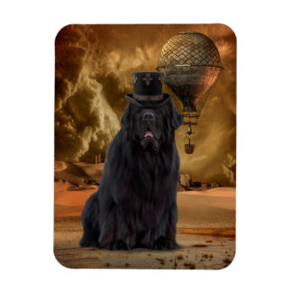 Steampunk dog magnet