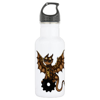 Steampunk Dragon 532 Ml Water Bottle