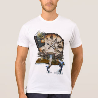 Steampunk dragon story book T-Shirt