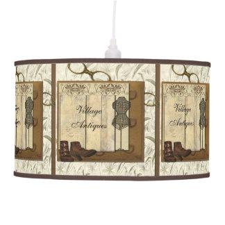 Steampunk Dressmaker Room Pendant Lamp