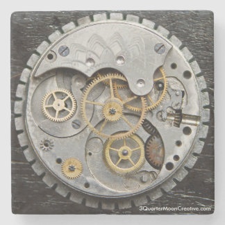 Steampunk Drink Coaster