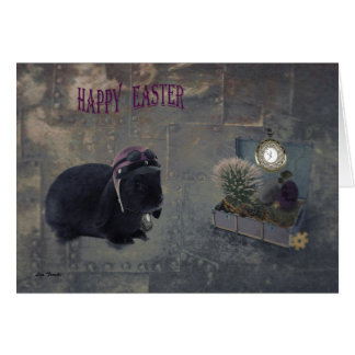 Steampunk Easter Card