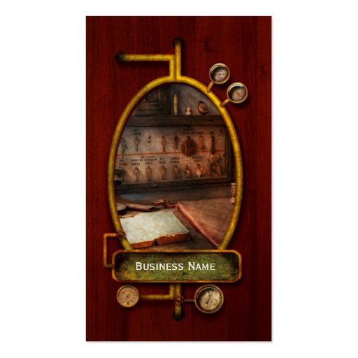 Steampunk - Electrical - My 9 to 5 job Business Cards