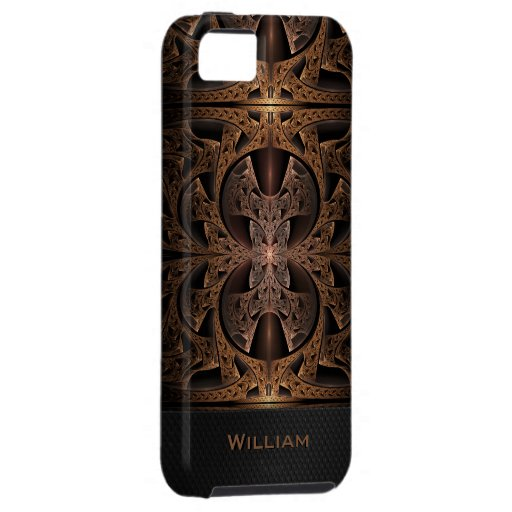 Steampunk Engine Abstract Fractal Artwork iPhone 5 Case