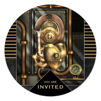 Steampunk Event Any Occasion Card